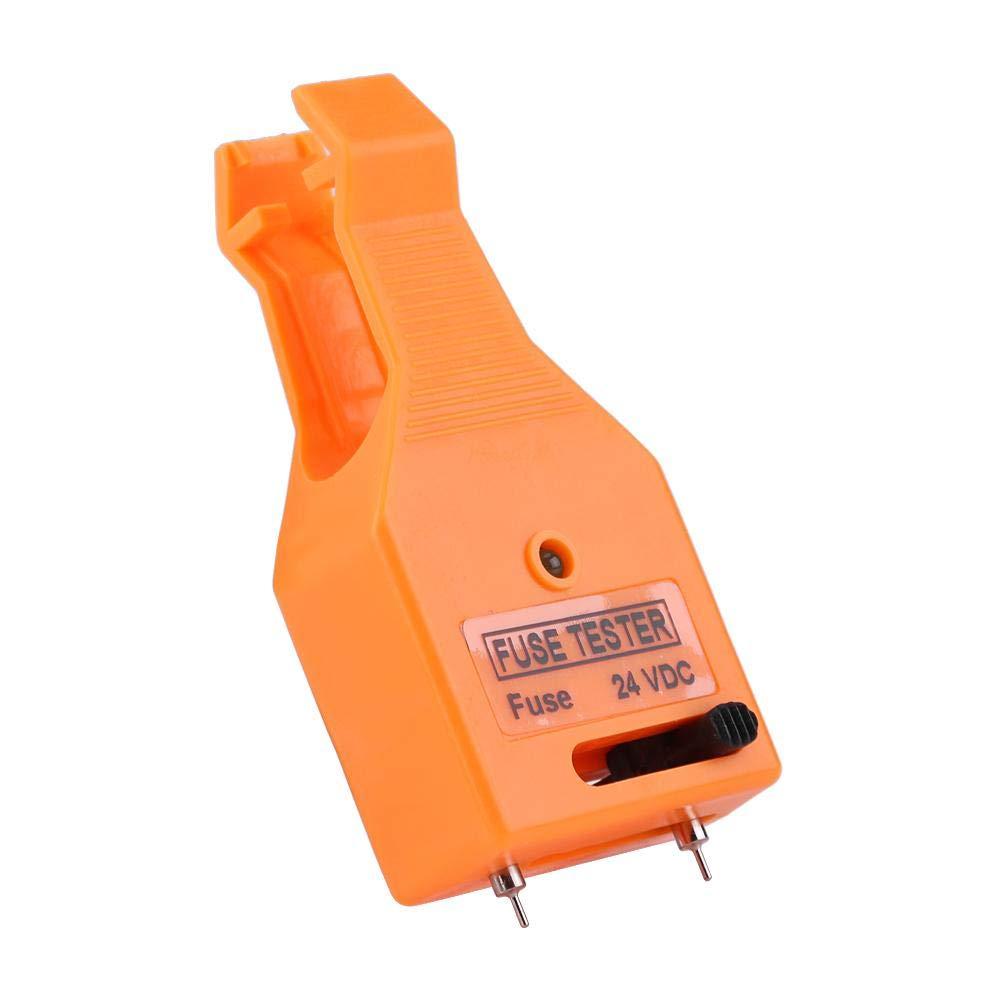 Comprobador de fusibles de cuchilla automotriz multifuncional, herramienta de extracción de extractor de fusibles para fusible de cuchilla mini/estándar