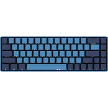 YUNZII AKKO 3068 Wired Mechanical Gaming Keyboard Cherry MX Switch PBT Keycap (Cherry MX Brown) Ocean Star