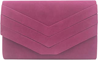 Cckuu Women Clutch Classic Clutch Purse Crossbody Handbag Envelope Evening Bag