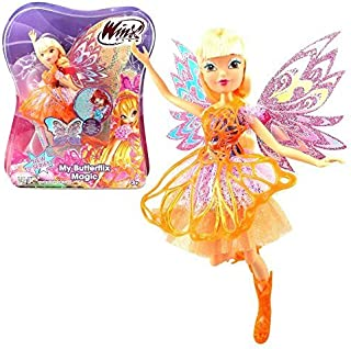 Winx Club - My Butterflix Magic - Stella Doll and Double Wings by Witty Toys