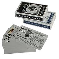 Magic Trick Playing Cards Deck1: Svengali - Long N Short Deck Deck 2: Tapered Deck / Secret Marked Cards