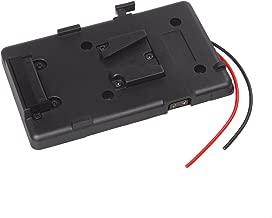 Andoer Mount Battery Plate Adapter for Sony Battery for DSLR Camcorder Video Light
