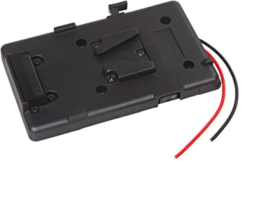 Andoer Mount Battery Plate Adapter for Sony Battery for DSLR Camcorder...