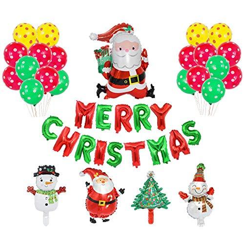 Envisioni - Globos de papel navideños, suministros para fiestas de globo aerostático, globos de papel para decoración de fiestas de Navidad, casas, fiestas de disfraces y fiestas de cumpleaños