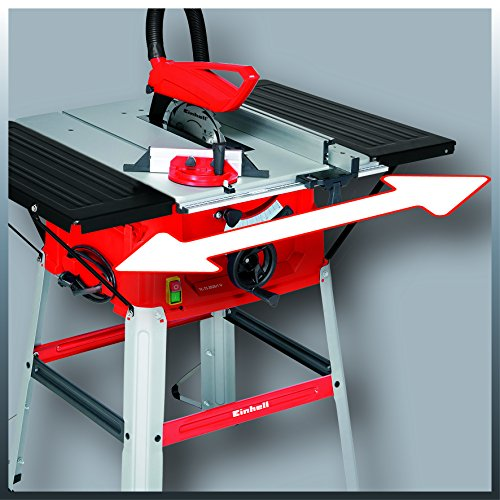 Einhell Tischkreissäge TC-TS 2025/1 U (2000 W, Sägeblatt Ø 250 x Ø 30 mm, max. Schnitthöhe 85 mm, Tischgröße 640×487 mm) - 4