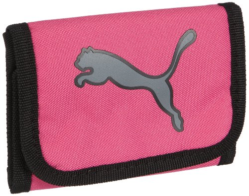 PUMA Geldbeutel Big Cat, raspberry rose-steel grey, 12x9.5 cm, 069126 10