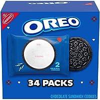 34-Pack Oreo Original Flavor Chocolate Sandwich Cookies