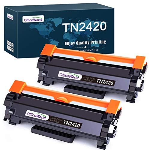 Photo of OfficeWorld TN2420 TN2410 Toner Cartridge Replace for Brother TN-2420 TN-2410 for Brother HL-L2350DW MFC-L2710DW DCP-L2530DW DCP-L2510D MFC-L2750DW HL-L2370DN HL-L2310D HL-L2375DW MFC-L2710DN