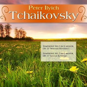 "Peter Ilyich Tchaikovsky: Symphony No.1 in G Minor, Op. 13 ""Winter Reveries""; Symphony No.2 in C Minor, Op. 17 ""Little Russian"""