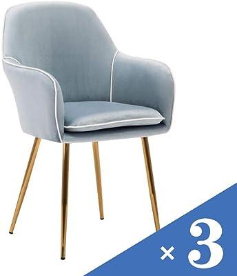 Amazon.com: Ch-AIR Silla de comedor/café/silla de oficina ...
