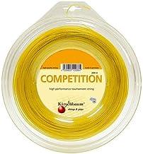 سلسلة تنس مسابقة بكرة كيرشبام، 1.25 مم/ 17 درجة، أصفر
