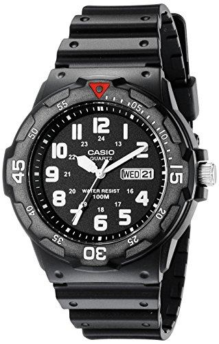 Casio Japanese-Quartz Sport Watch with Resin Strap, Black, 18 (Model:...