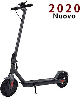 Doogoo monopattino elettrico, velocità massima 30km/h, 30 km di autonomia, ruote 8,5`` pneumatici pieghevole