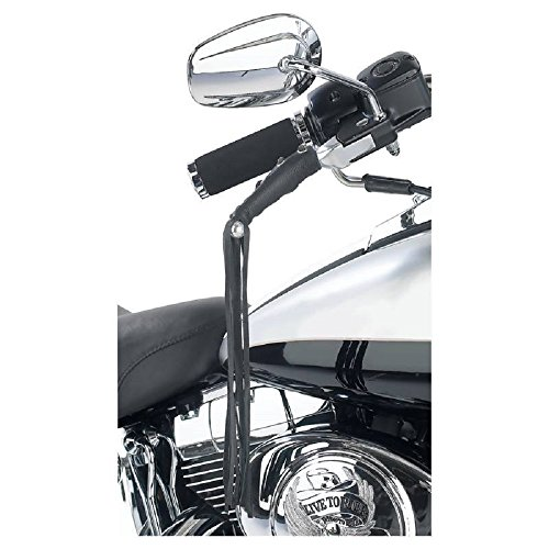 Leather Motorcycle Brake Clutch Fringe Grip Covers