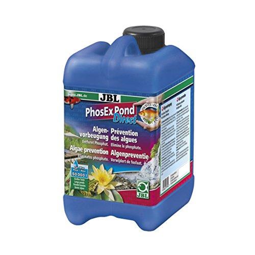 JBL Phos Ex Pond Direct 27395 Phosphatentferner für Teiche, 2,5 L