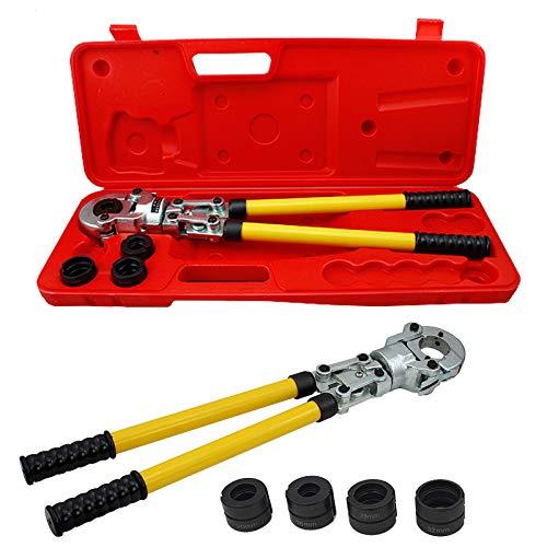 BMOT Pressfitting Preßzange Rohrpresszange Presszange Verbundrohr PEX PE-X 16-32 mm Alurohr Aluminiumrohr Presswerkzeug