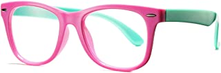 COASION عینک تمیز برای پسران کوچک ، Geek Fake Nerd عینک برای لباس (سن 4-12)
