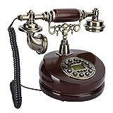 Vbestlife Teléfono Retro Antiguo, Resina Teléfonos Vintage de Doble propósito...