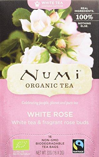 Numi Organic White Rose - Velvet Garden 16 Beutel, 2er Pack (2 x 32 g) - Bio