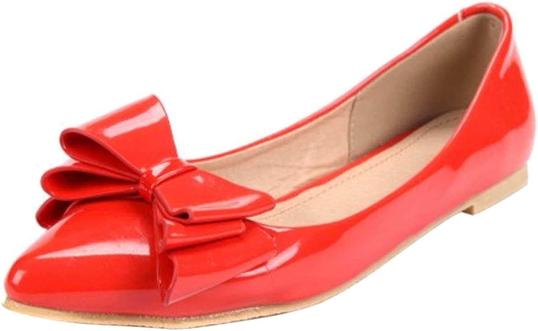 Luis Vuis Women Flat Pumps shoes Pointed Toe