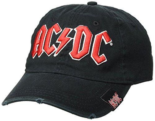 AC/DC Herren Baseball Cap, Schwarz, One Size