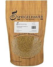 Semillas orgánicas para germinados de fenogreco - Semillas para germinar brotes de alholva - fuente de energía saludable - sabrosas para ensaladas - Contenido: 1kg semillas de alholva o fenogreco