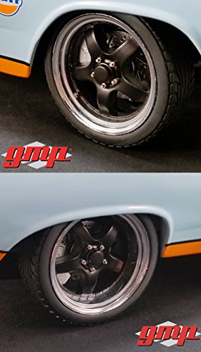 5-Spoke Wheel and Tire Pack of 4 from 1966 Ford Fairlane Street Fighter Gulf Oil 1/18 by GMP 18898