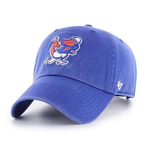 NCAA Florida Gators Adult NCAA '47 Clean Up H-Series Adjustable Hat, One Size, Royal