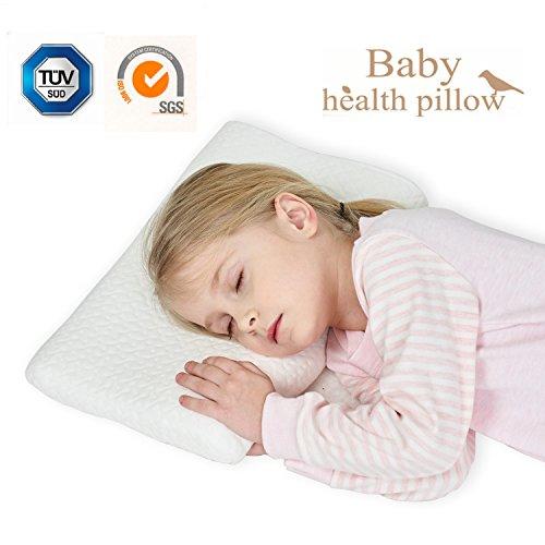 Gesundheit Kinder Kissen für Bett Schlafen Hypoallergenic Memory Schaum kinderkissen Neck-Protector für Kinder (2-5 Jahre)