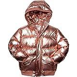 Appaman Kids Baby Girl's Puffy Coat (Infant/Toddler/Little Kids/Big Kids) Rose Gold 7 Little Kids