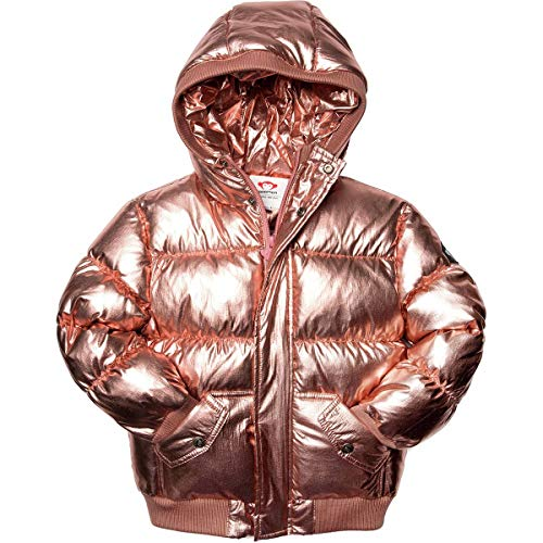 Appaman Kids Baby Girl's Puffy Coat (Infant/Toddler/Little Kids/Big Kids) Rose Gold 14 Big Kids