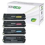 4 Toner kompatibel zu Samsung CLP-680ND, CLP-680DW/SEE, CLP-680 Series, CLX-6260FR FW ND - Schwarz je 6.000 Seiten, Color je 3.500 Seiten