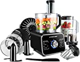 Food Processor Topchef 1100W Multifunctional Food Processor- Blender, Chopper, Mixer, Grinder, Citrus Juicer