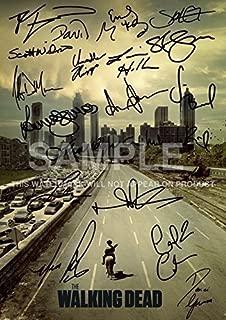 The Walking Dead Tv Print (11.7 X 8.3) Andrew Lincoln Norman Reedus Andrew Lincoln Jon Bernthal Sarah Wayne Callies Laurie Holden Steven Yeun Robert Kirkman