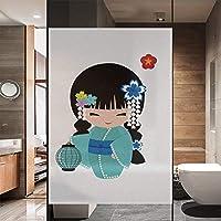 89x140cm 窓用フィルム 目隠しフィルム 目隠しシート めかくしシート 断熱シート すりガラス調 UVカット 静電吸着 水で貼る 何度も貼り直せる 浴室 風呂 玄関目隠し 窓ガラスフィルム TD140
