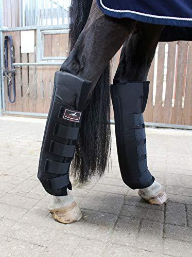 VITANDAR Therapeutische Stallgamaschen für Pferde mit Infraroteffekt, Extra Lang für Gelenksupport, 1 Paar, hinten, Gr. L