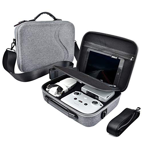O'woda Estuche de Transporte para Cuerpo de Drone y Funda para Control Remoto, Bolsa de Almacenamiento portátil Impermeable, Case de protección de Viaje para dji Mavic Mini 2 Accessori