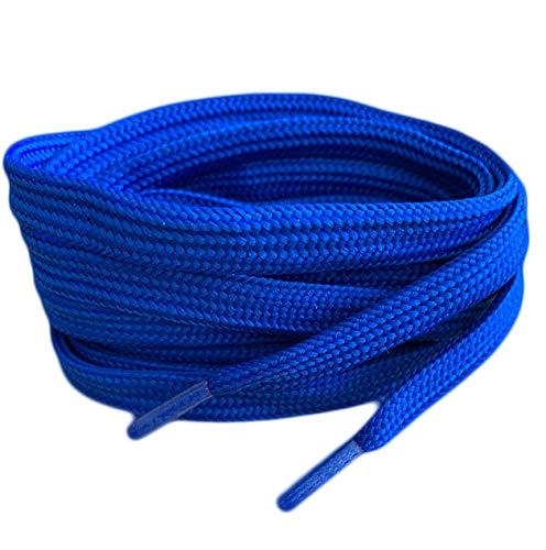 Royal Blau Farbige Flach Schnürsenkel für Sportschuhe Skate Schuhe, Hi Tops, Schuhe Stiefel Converse Nike Converse Puma Schnürsenkel Schnürsenkel sind 10 mm breit