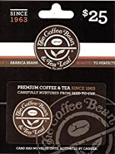 coffee bean gift cards