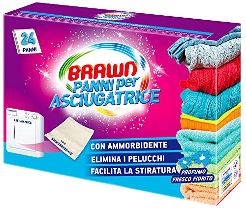 Brawn Brawn Panni Asciugatrice 24-100 g