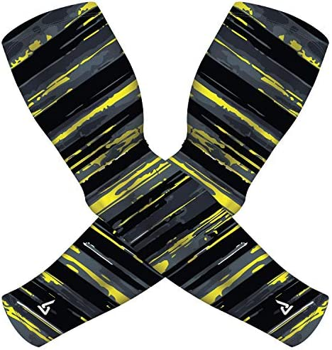 B Driven Sports Arm Sleeves For Basketball In Kids Sizes Also Great For Football Training Baseball product image