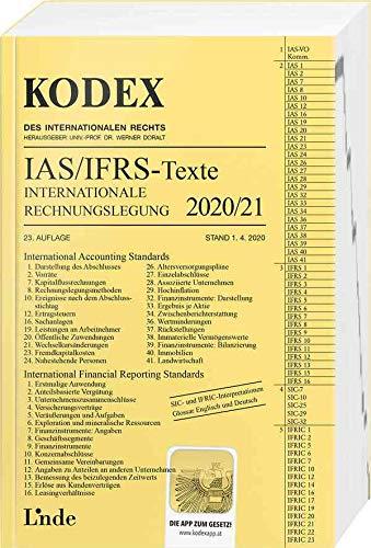 KODEX Internationale Rechnungslegung IAS/IFRS - Texte 2020/21 (Kodex des Internationalen Rechts)