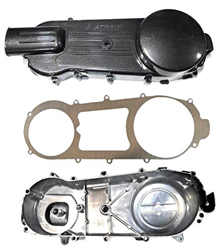 GY6 150CC Belt Cover Crankcase Cover (LH) 842 Belt - Long Case with Gasket