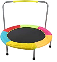 HsvgjsfaA Mini Kids Folding Trampoline Safe Bouncer Kids Trampoline with Handrails for Indoor Kindergarten A Estimated Price : £ 237,04