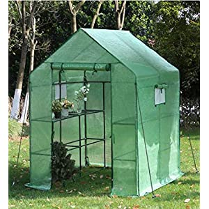 YOUKE Invernadero Portátil, Ideal para Jardín, Balcón, Patio etc, (143 x 73 x 195 CM): Amazon.es: Jardín