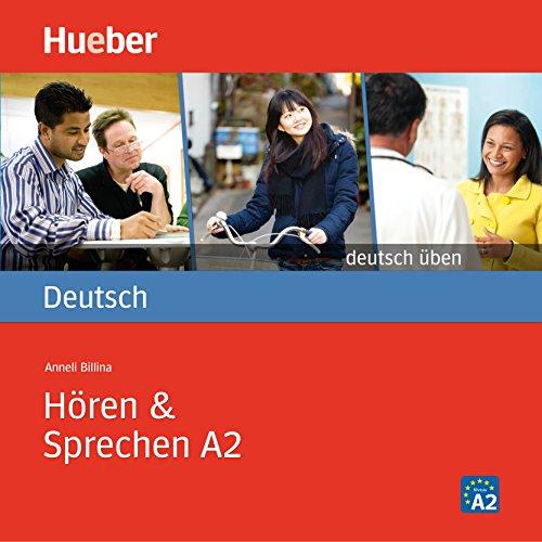 Hören & Sprechen A2 (Deutsch üben) audiobook cover art