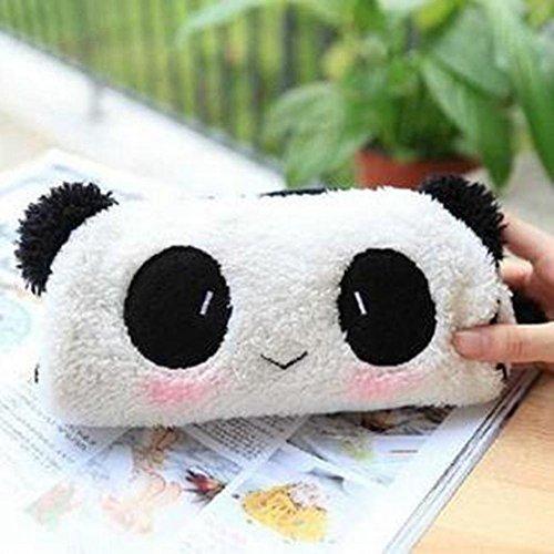 ningteng Tasche weich charmante am Fall der Füllfederhalter des der Panda der Plüsch in Tasche Tasche Kosmetik Handtasche des Makeup