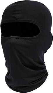 Fuinloth Balaclava Face Mask, Summer Cooling Neck Gaiter, UV Protector Motorcycle Ski Scarf for Men/Women