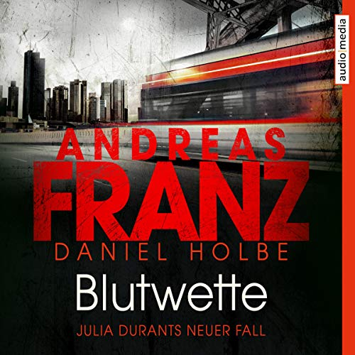 Blutwette audiobook cover art