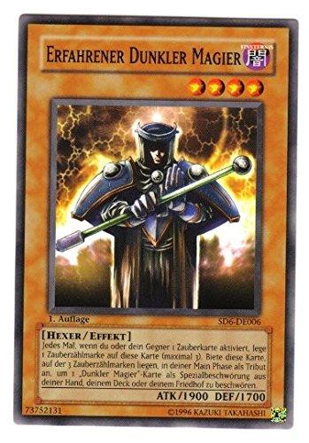 SD6-DE006 Erfahrener dunkler Magier 1. Auflage